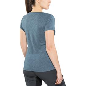 IXS Brand T-paita Naiset, celeste-aqua marine
